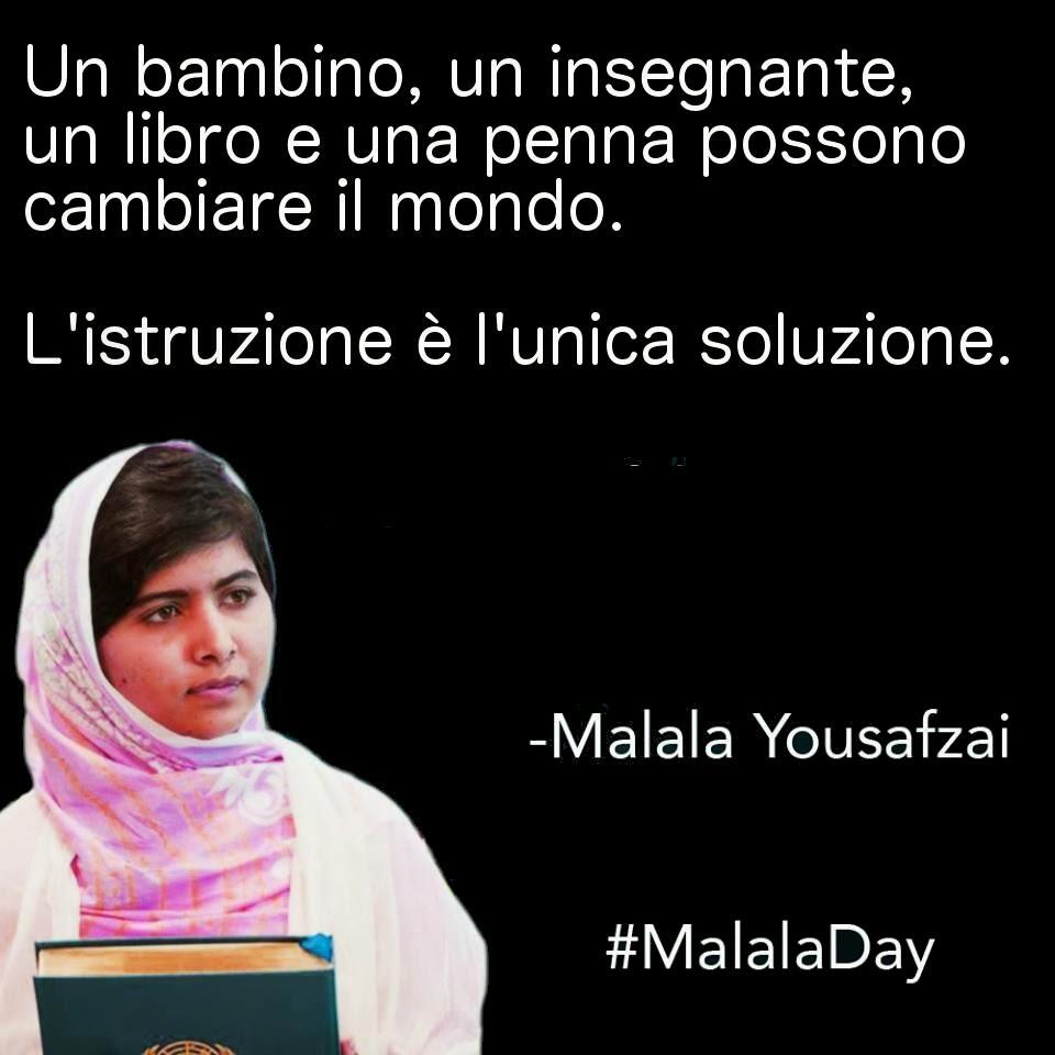 Istruzione è… Malala Yousafzai