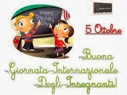 5 OTTOBRE – Happy Teachers Day